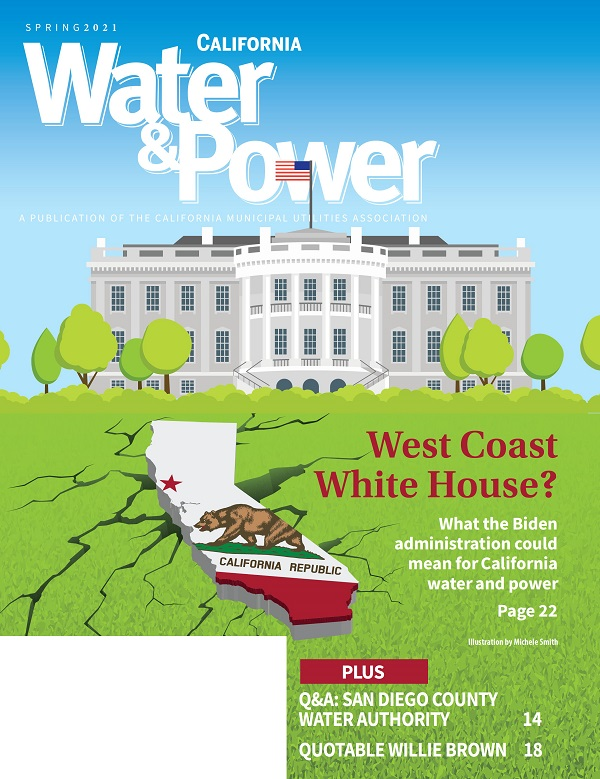 Spring 2021 magazine cover